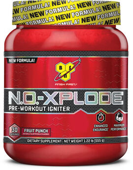 N.O.-XPLODE® Preworkout Fruit Punch 1.22 lbs.