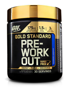 Gold Standard Pre-Workout Fruit Punch 10.58 oz.