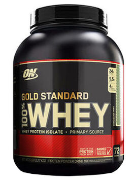 Gold Standard 100% Whey Protein Chocolate Mint 5 lbs.