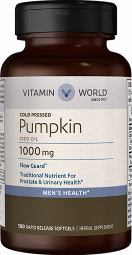 Pumpkin Seed Oil 1,000mg