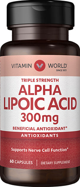 Alpha Lipoic Acid 300 mg.