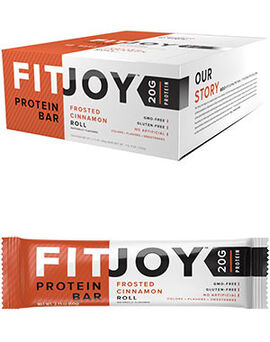 FitJoy Protein Bars Frosted Cinnamon Roll