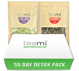 Teami Colon and Teami Skinny 30-Day Detox Tea Pack