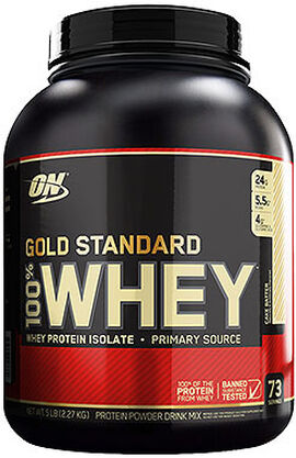 Gold Standard 100% Whey Protein Cake Butter 5 lbs.