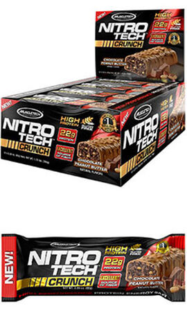 Nitro Tech™ Crunch Protein Bars Chocolate Peanut Butter