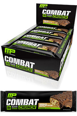 Combat Crunch™ Protein Bars Chocolate Peanut Butter Cup