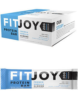 FitJoy Protein Bars French Vanilla Almond