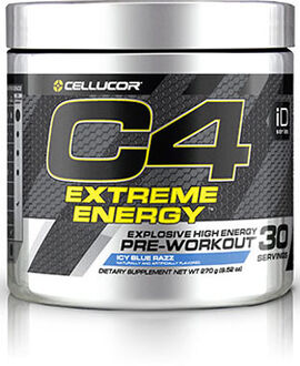 C4® Extreme Energy Preworkout 9.52 oz. Icy Blue Razz