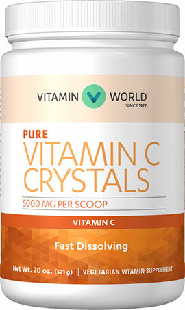 Vitamin C Crystals 5000 mg.