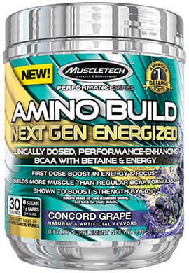 Amino Build® Next Gen Energized Concord Grape
