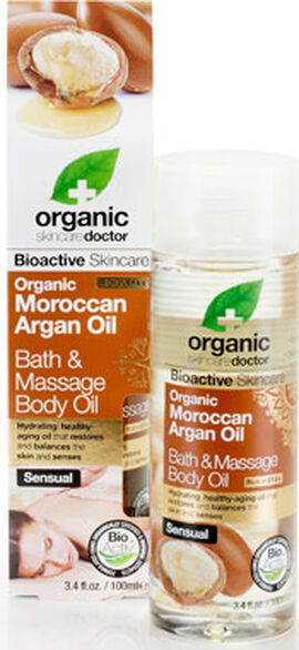 Organic Doctor Moroccan Argan Oil Bath & Massage Body Oil
