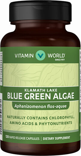 Blue Green Algae Klamath Lake 500 mg.