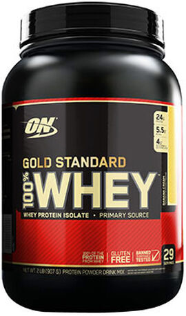 Gold Standard 100% Whey Banana Cream