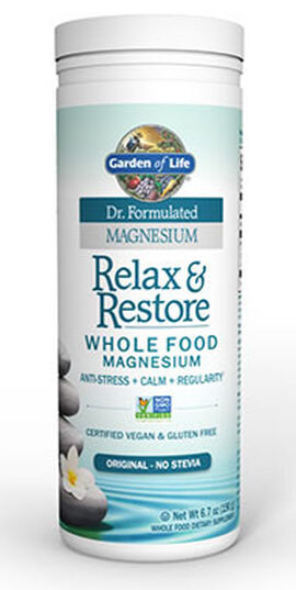Dr. Formulated Relax & Restore Whole Food Magnesium Original