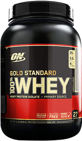 Gold Standard 100% Whey Protein Cookies & Cream 2 lbs.