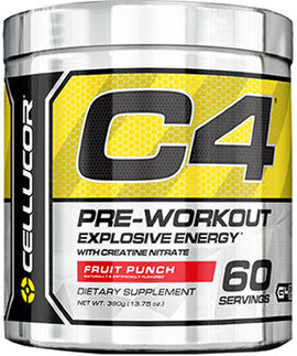 C4 Pre Workout Fruit Punch 13.75 oz.