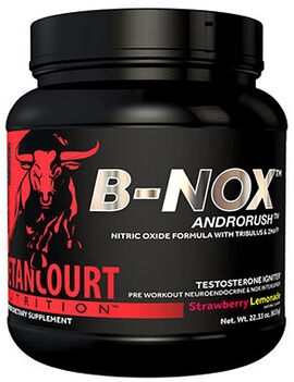 B-nox Androrush Pre Workout Strawberry Lemonade 23.3 oz.