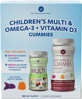 Children's Multivitamins & Omega-3 Gummies