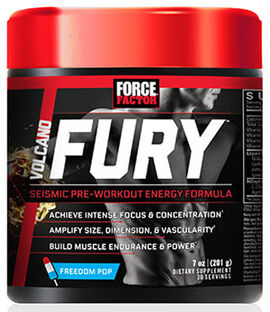 VolcaNO Fury™ Pre Workout Freedom Pop