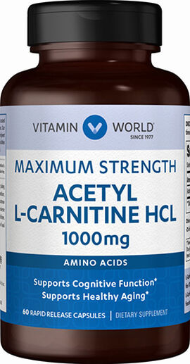 Acetyl L-Carnitine 1000 mg.
