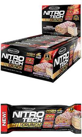 Nitro Tech™ Crunch Protein Bars Birthday Cake
