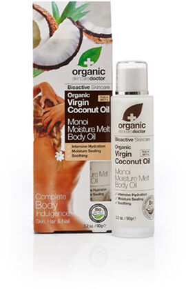 Organic Doctor Virgin Coconut Oil Monoi Moisture Melt Body Oil