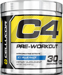 C4 Pre Workout Icy Blue Razz 6.87 oz.