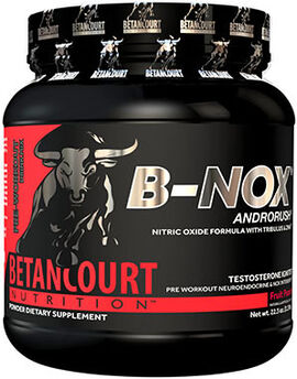 B-nox Androrush Pre Workout Fruit Punch 22.3 oz.