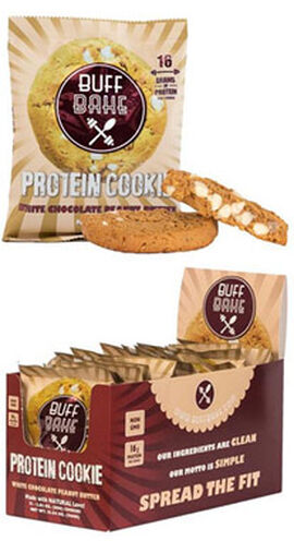 Protein Cookies White Chocolate Peanut Butter