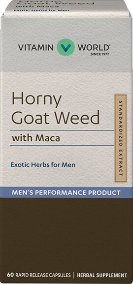 Horny Goat Weed with Maca