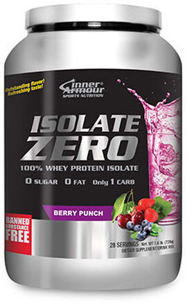 Isolate Zero Whey Protein Isolate Berry Punch 1.6 lbs.