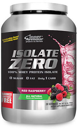 Isolate Zero All Natural Whey Protein Isolate Red Raspberry 1.6 lbs.