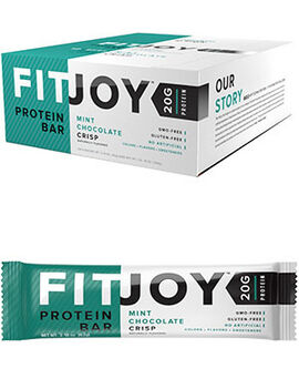 FitJoy Protein Bars Mint Chocolate Crisp