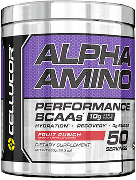 Alpha Amino BCAAs Fruit Punch 22.3 oz.