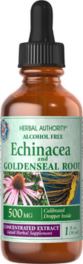 Echinacea Golden Seal Root Liquid Extract 500mg