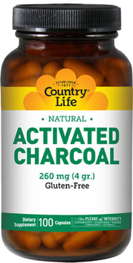 Activated Charcoal 260 mg.