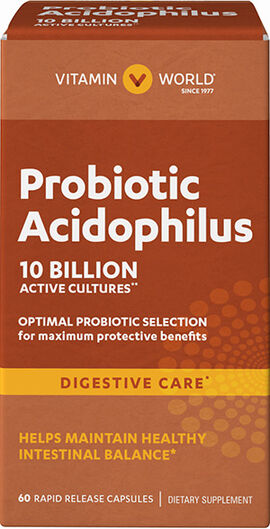 Maximum Acidophilus Probiotic Complex 10 Billion