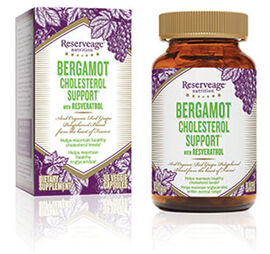 Bergamot Cholesterol Support** with Resveratrol