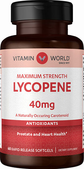 Maximum Strength Lycopene 40mg