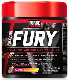 VolcaNO Fury™ Pre Workout Raspberry Lemonade