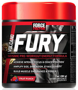 VolcaNO Fury™ Pre Workout Fruit Punch