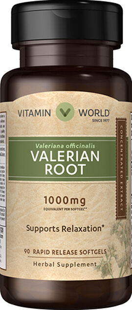 Valerian Root Extract 1000mg