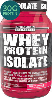 Whey Protein Isolate Fruit Punch 2 lbs.VW.WHEY PRTN ISO FP.2 LB.PWD<br>