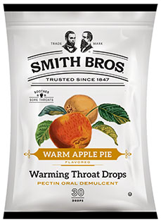 Smith Brothers Warming Throat Drops Warm Apple Pie<br>