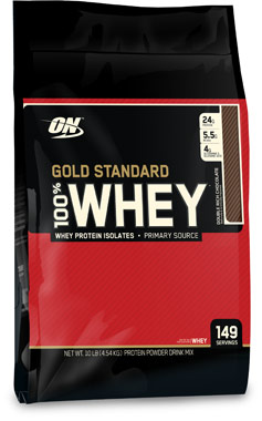 Gold Standard 100% Whey Protein Double Rich Chocolate 10 lbs.WO-GSW DRCHC<br>