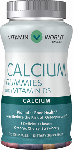 Calcium Gummies with Vitamin D3VW.ADULT CALW/D3 GUMMIE.90.GMY<br>