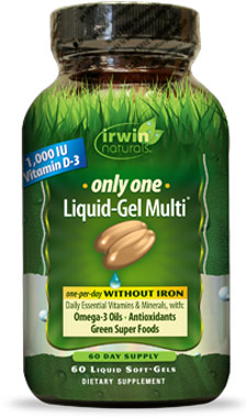 Only One Multivitamins without IronVW.MULTI 1 W/O IRON.1000.MG /<br>