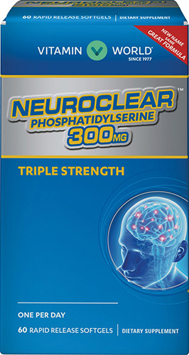 Neuro-PS® (Phosphatidylserine) 300 mgVW.NEURO PS.300.MG.60.SFG<br>