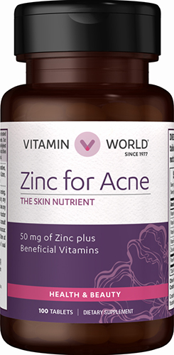 Zinc for AcneVW.ZINC FOR ACNE.100.TAB<br>