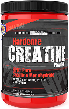 Hardcore CreatineVW.CREATINE POWDER.510G.PWD<br>
